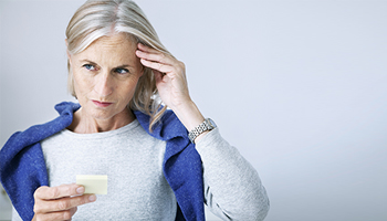 Forgetfulness and memory loss in old age