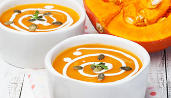 Recipe for squash and coconut masala soup
