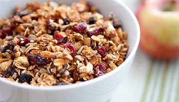 Protein packed muesli recipe