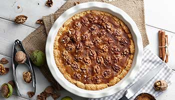 Raw walnut pie recipe