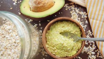 Avocado & Oatmeal Facial Mask