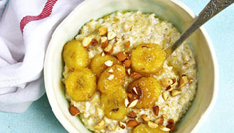 Coconut porridge – breakfast recipe