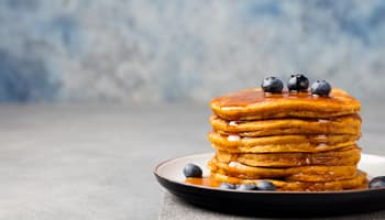 Mini pumpkin pancakes recipe
