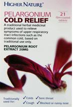 Pelargonium Cold Relief