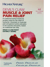 Devil's Claw Muscle and Joint Pain Relief