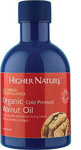 Organic Cold Pressed Walnut Oil
