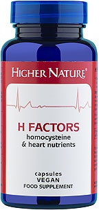 H Factors maintains normal homocysteine levels