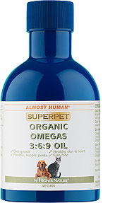 Almost Human SuperPet Organic Omegas 3:6:9 Oil