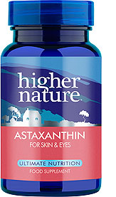 Astaxanthin for skin & eyes