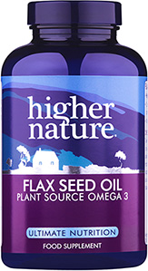 Flax Seed Oil Capsules 1000mg