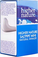 Higher Nature Saltpipe ® Mini Inhaler