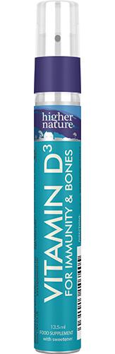 Spray de Vitamine D3 pour Adultes