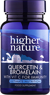 Quercetin and Bromelain