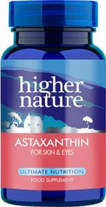 Astaxanthin for skin & eyes