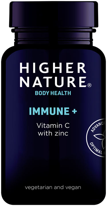 Immune + with vitamin C and zinc