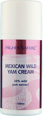 Crème au Yam Sauvage du Mexique