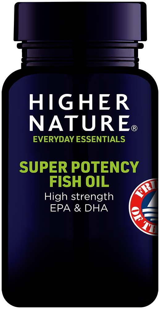 Super Potency Omega 3 Fish Oil Capsules