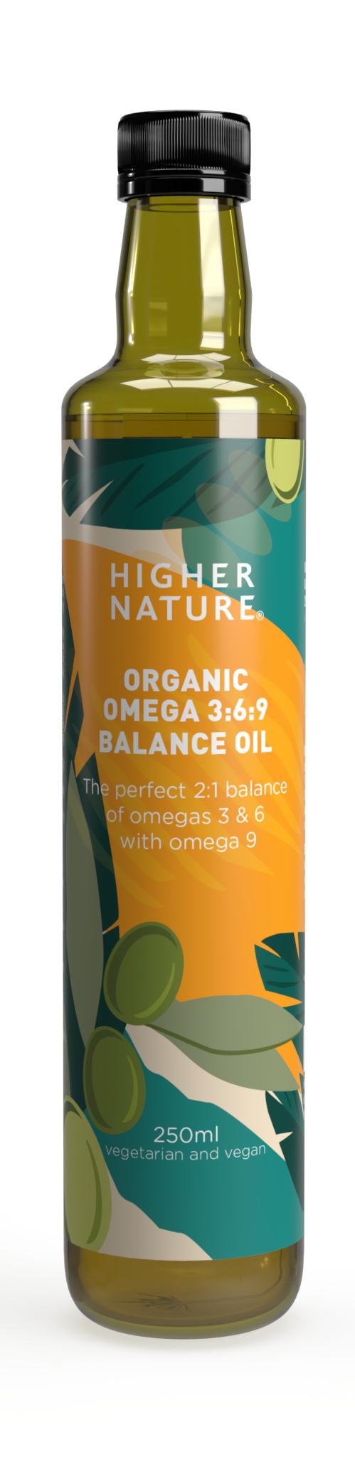 Organic Omega 3:6:9 Balance Oil
