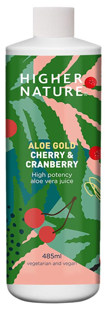 Aloe Gold Cherry/Cranberry