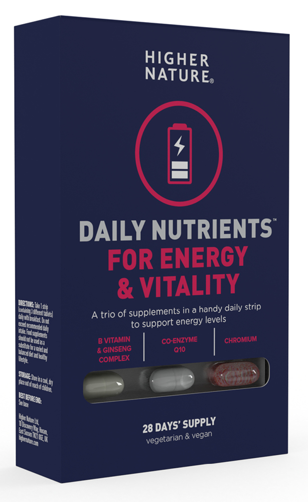 Daily Nutrients for Energy & Vitality