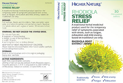 Rhodiola Stress Relief