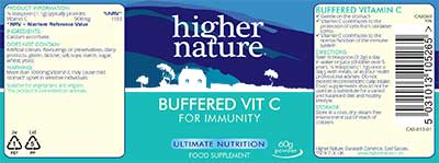 Buffered Vitamin C (Calcium Ascorbate