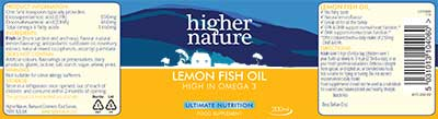 Lemon fish oil