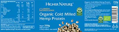 Organic Cold Milled Hemp Protein