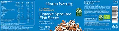 Organic Sprouted Flax Seeds