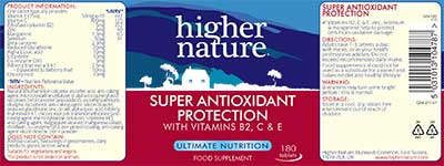 Super Antioxidant Protection