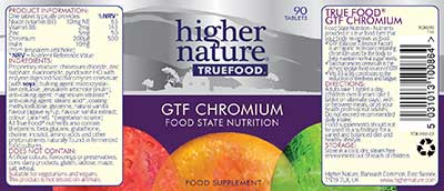 True Food GTF Chromium