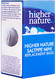 Replacement Saltbags for The Higher Nature Saltpipe™ Mini